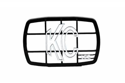 Fog/Driving Lights and Components - Fog/Driving/Offroad Light Shield - KC HiLites - KC HiLites 7220 Gravity LED G46 Protective Stone Guard