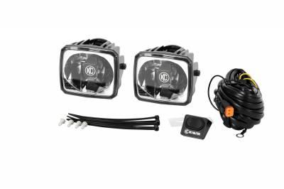 Fog/Driving Lights and Components - Fog Light Kit - KC HiLites - KC HiLites 433 Gravity LED G34 Fog Light
