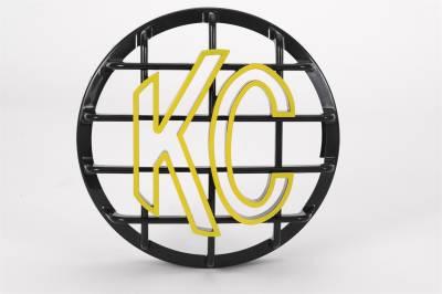 Fog/Driving Lights and Components - Fog/Driving/Offroad Light Shield - KC HiLites - KC HiLites 72101 LED Light Grille