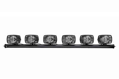 Fog/Driving Lights and Components - Fog Light Kit - KC HiLites - KC HiLites 97058 Gravity Series LED G46 Light