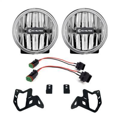 Fog/Driving Lights and Components - Fog Light Kit - KC HiLites - KC HiLites 502 Gravity LED G4 Fog Light