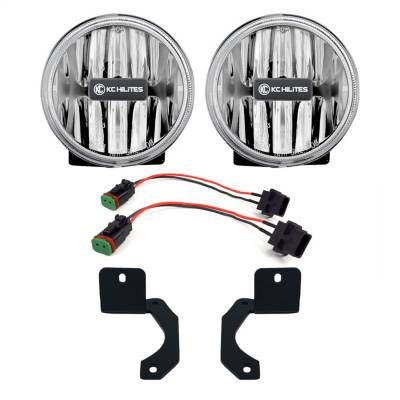 Fog/Driving Lights and Components - Fog Light Kit - KC HiLites - KC HiLites 504 Gravity LED G4 Fog Light