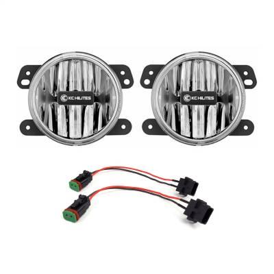 Fog/Driving Lights and Components - Fog Light Kit - KC HiLites - KC HiLites 506 Gravity LED G4 Fog Light