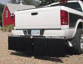 Mud Flaps for Dually Trucks - Towtector Hitch System