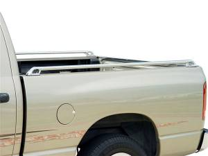 MDF Exterior Accessories - Bed Caps | Bed Rails - Go Industries Bed Rails