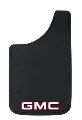 "Mud Flaps for Trucks - Plasticolor Mud Flaps - Plasticolor - Plasticolor 000511R01 GMC Mud Flaps Pair 11"" x 19"""