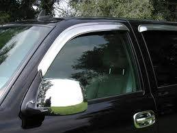 MDF Exterior Accessories - Side Window Deflectors