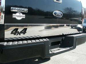 Exterior Accessories - Body Styling - Tailgate Trim