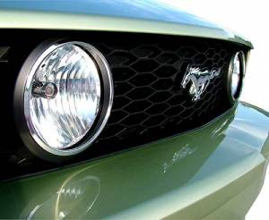 Exterior Lighting - Fog/Driving Lights and Components - Fog Light Trim Ring