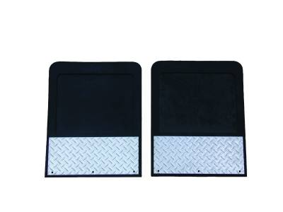 Go Industries Dually Mud Flaps - Dodge Truck Mud Flaps - GO Industries - Go Industries D729SET Dually Mud Flaps Dodge Ram 3500 1994-2000