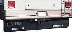 "Hitch Mud Flaps - Ultra Guard - Ultra Guard - Ultra Guard 00014 Motorhome & RV Mud Flap System (94"" x 20"" Mud Flap)"