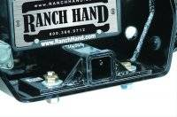 Ranch Hand Rear Bumpers - Bolt-On Receiver Tube - Ford