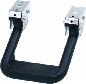 Carr Side Steps | Hoop II | Super Hoop | Hitch Steps - Hoop II - HOOP II XP3 Black Powder Coat (Pair)