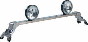 Deluxe Light Bar - Deluxe Light Bar in Bright Anodized - Jeep