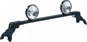 CARR - Deluxe Rota Light Bar - Deluxe Rota Light Bar in Black Powder Coat