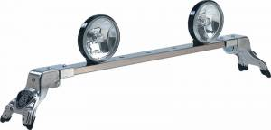 CARR - Deluxe Rota Light Bar - Deluxe Rota Light Bar in Bright Anodized