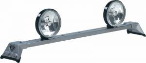 CARR - Low Profile Light Bar - Low Profile Light Bar in Titanium Silver Powder Coat