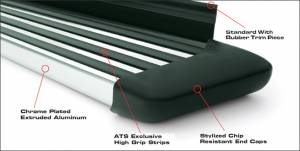 Running Boards | Nerf Bars - ATS Running Boards & Brackets - Platinum Series