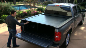 BAK Industries Tonneau Covers - RollBak Roll G2 | Aluminum Roll Up Cover - Chevy