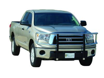 Big Tex Grille Guards for Toyota Trucks - Tundra - GO Industries - Go Industries 77608 Chrome Big Tex Grille Guard Toyota Tundra 2007-2009