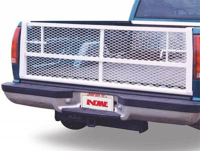 Painted White Straight Tailgate - Dodge - GO Industries - Go Industries 6624 Straight White Tailgate Dodge Ram 1500 2009-2013