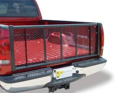 Straight Black Tailgate - Dodge - GO Industries - Go Industries 6624B Straight Black Tailgate Dodge Ram 1500 2009-2013