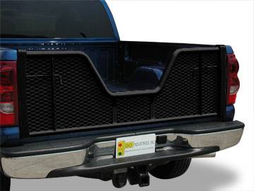 Painted Black V-Gate Tailgate - Dodge - GO Industries - Go Industries 6669B V-Gate Black Tailgate Dodge Dakota 1997-2008