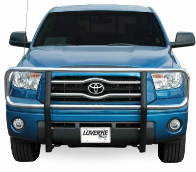 """Luverne Grille Guards - Toyota - Luverne - Luverne 330750/330753 Chrome 2"""" Grille Guard Toyota Tundra 2007-2013"""