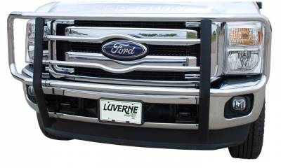 "MDF Exterior Accessories - Luverne - Luverne 330520 Chrome 2"" Grille Guard Ford Super Duty 2005-2007"