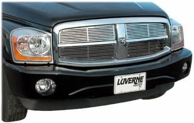 Billet Grilles | Grille Inserts - Luverne - Luverne - Luverne 230531 Horizontal Stainless Steel Grill Insert 2005-2008 Dodge Dakota