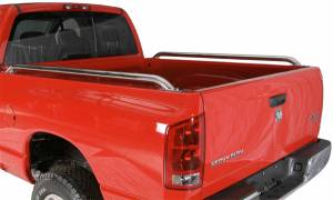 Raptor Bed Rails - Stainless Steel Bed Rails - Toyota