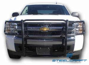 Grille Guards - Stainless Steel - Chevy