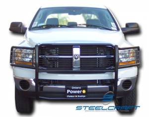 Grille Guards - Stainless Steel - Dodge