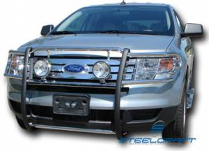 Grille Guards - Stainless Steel - Ford