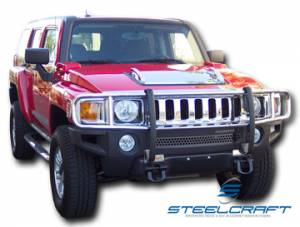 Grille Guards - Stainless Steel - Hummer