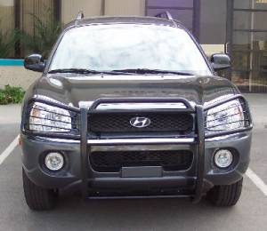 Grille Guards - Stainless Steel - Hyundai