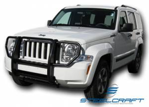 Grille Guards - Stainless Steel - Jeep