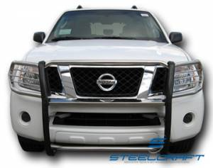 Grille Guards - Stainless Steel - Nissan