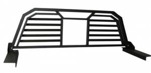 Spyder Headache Racks - Headache Rack - Louvered with Window Cut Out - Dodge