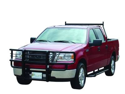 Rancher Grille Guards for Ford Trucks - Rancher Grille Guards in Hammerhead Grey - GO Industries - Go Industries 45638 Hammerhead Rancher Grille Guard Ford F-150 (Will not fit FX2, Harley or 2004 Heritage) 2004-2008