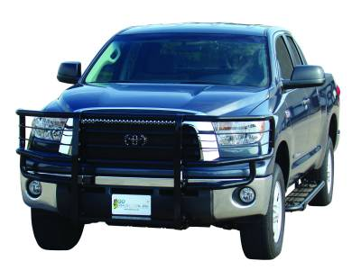 Rancher Grille Guards for Toyota Trucks - Rancher Grille Guards in Black - GO Industries - Go Industries 46608 Black Rancher Grille Guard Toyota Tundra 2007-2009