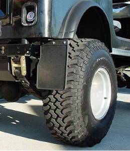 Mud Flaps by Style - Frame Mount Mud Flaps - Trail Flap