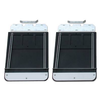 Go Industries Dually Mud Flaps - Ford Truck Mud Flaps - GO Industries - Go Industries 70730SET Dually Mud Flaps Ford F350 1999-2010