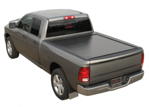 Pace Edwards Tonneau Covers - Bedlocker Electric with Standard Rails - Bedlocker Electric Tonneau Cover Canister