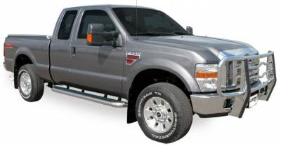 Mega Step - Ford Brackets - Luverne - Luverne 579921 Bracket Kit Ford Super Duty F-Series Regular Cab 1999-2012
