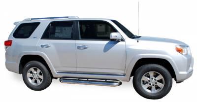 Mega Step - Toyota Brackets - Luverne - Luverne 570154 Bracket Kit Toyota 4Runner 2010-2012