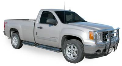 Side Entry Steps - GMC - Luverne - Luverne 549425 Stainless Steel Running Boards GMC 6.5 Box 1999-2012