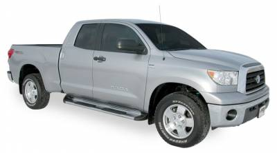Side Entry Steps - Toyota - Luverne - Luverne 480752 Stainless Steel Running Boards Toyota Tundra Double Cab 2007-2015