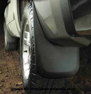 Husky Mud Flaps - Custom Molded Mud Guards - Dodge