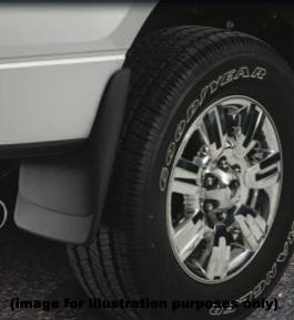 Husky Mud Flaps - Custom Molded Mud Guards - Ford